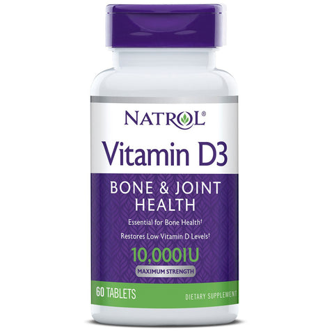 Natrol Vitamin D3 10000 IU Ultra Strength
