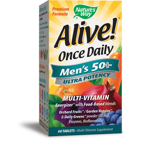 NATURES WAY - Alive Once Daily Mens 50+ Ultra Potency