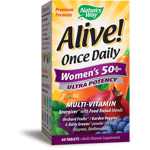 NATURES WAY - Once Daily Womens 50+ Ultra Potency Multivitamin