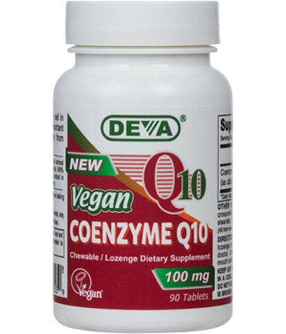 Deva Nutrition Vegan Coenzyme Q10 100 mg