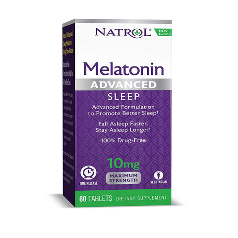 Natrol Melatonin Advanced Sleep Maximum Strength 10 mg