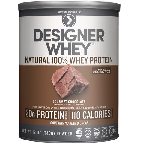 DESIGNER WHEY - Protein Chocolate Powder - 12 oz. (340 g)