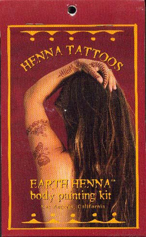 Lakaye Studio - Earth Henna Body Painting Kit Mini