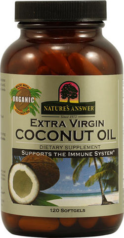 Natures Answer Organic Extra Virgin Coconut Oil