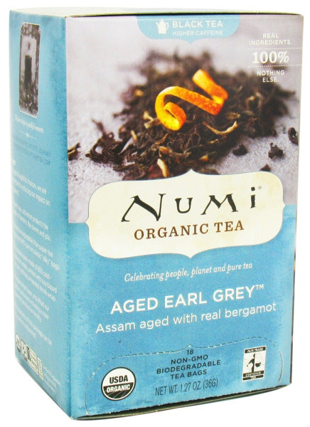 Numi Tea Aged Earl Grey Black Tea