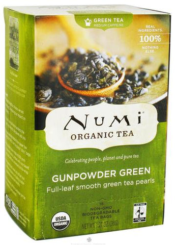 Numi Tea Gunpowder Green Tea