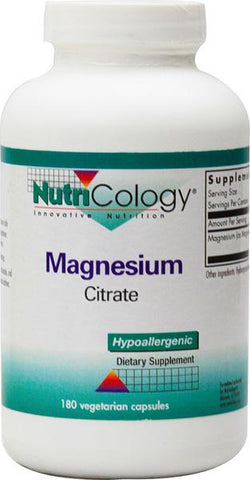 NUTRICOLOGY - Magnesium Citrate