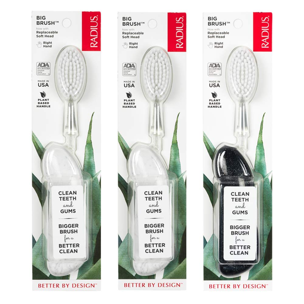 Radius Original Right Hand Toothbrush