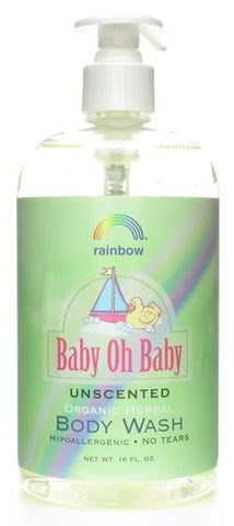 Rainbow Research Baby Body Wash Unscented