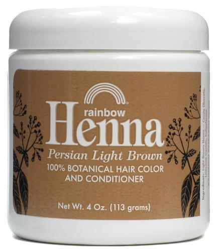 Rainbow Research Light Brown Henna