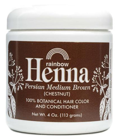 Rainbow Research Medium Brown Henna
