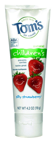 Toms Of Maine Silly Strawberry Fluoride