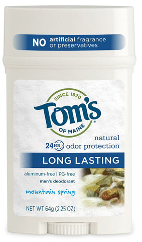 Toms Of Maine LL Mens PGF Wide Stick Deodorant