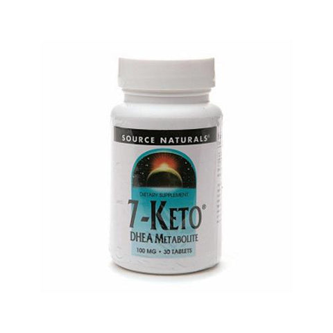 Source Naturals 7-Keto - 30 Tablets (100 mg)