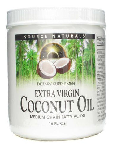 Source Naturals Coconut Oil (Extra Virgin) - 16 oz