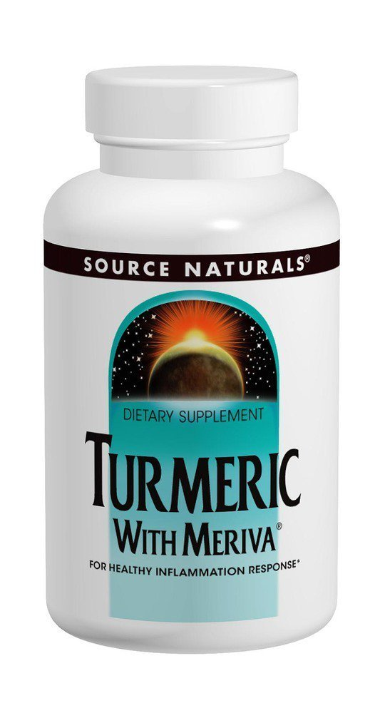 Source Naturals Turmeric with Meriva - 120 Tablets (500 mg)