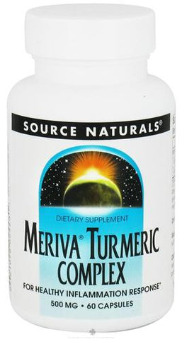 Source Naturals Turmeric with Meriva - 60 Capsules (500 mg)
