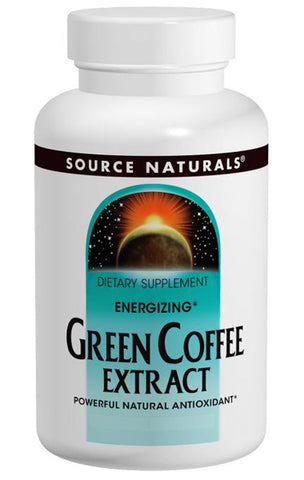 Source Naturals Energizing Green Coffee Extract - 120 Tablets