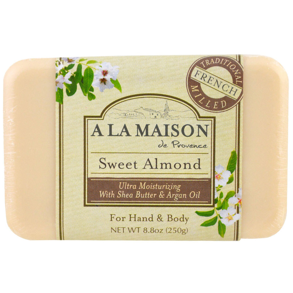 A La Maison - French Milled Bar Soap Sweet Almond
