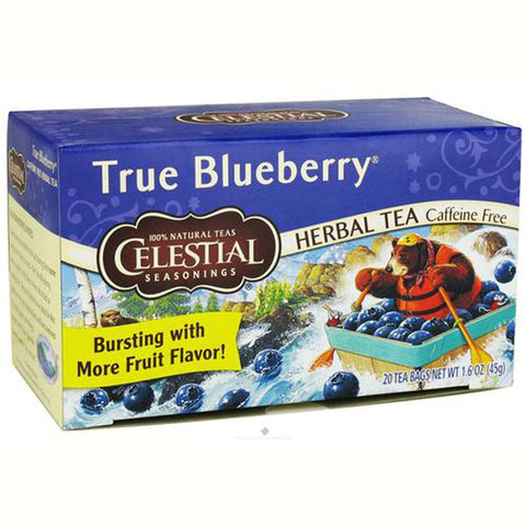 Celestial Seasonings True Blueberry Herb Tea