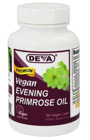 Deva Nutrition Vegan Evening Primrose Oil