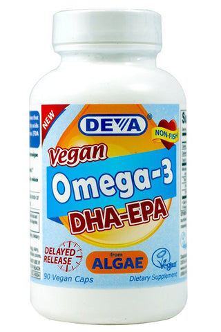 Deva Nutrition Vegan DHA & EPA Delayed Release