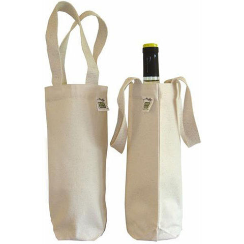 Eco-Bags Canvas Wine Bag