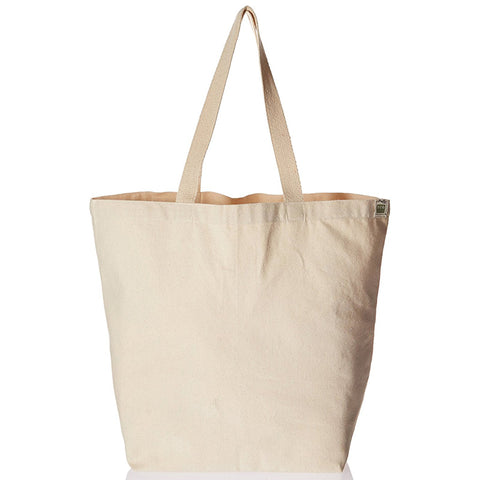 ECO-BAGS - Recycled Cotton Tote, Natural
