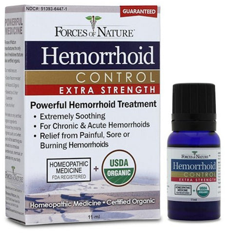 Forces Of Nature Hemorrhoid Control Extra Strength