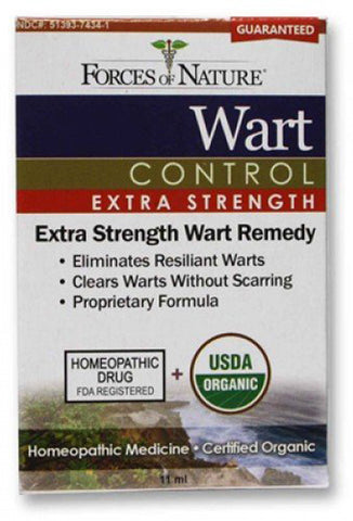 Forces Of Nature Wart Control Extra Strength