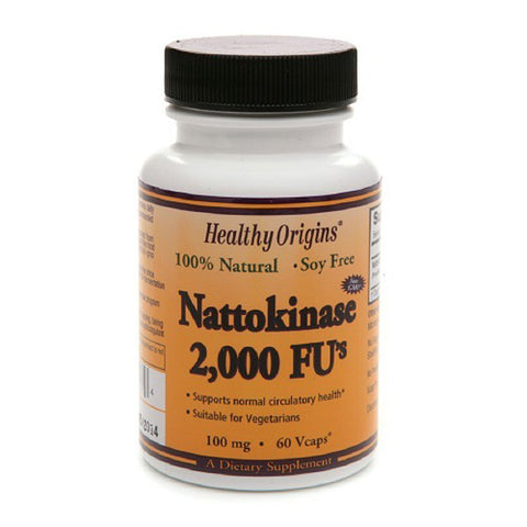 Healthy Origins -  Nattokinase 2, 000 Fu'S Multi Vitamins, 100 Mg,