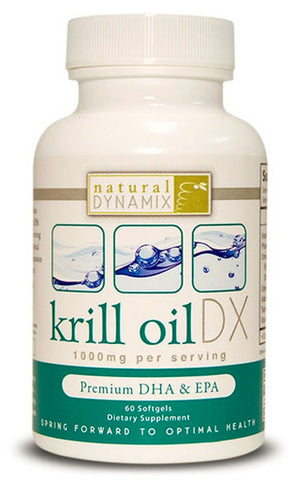 Natural Dynamix DX - Natural Dynamix Krill Oil Dx, 60 Softgels