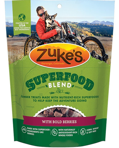 ZUKE'S - SuperFood Blend with Bold Berries Dog Treats