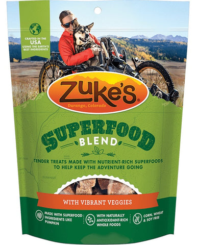 ZUKE'S - SuperFood Blend with Vibrant Veggies Dog Treats