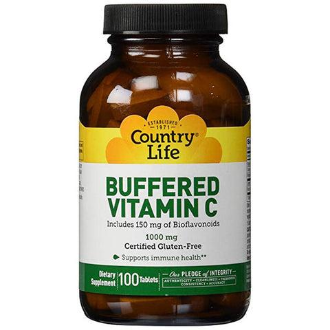 COUNTRY LIFE - Buffered Vitamin C 1000 mg