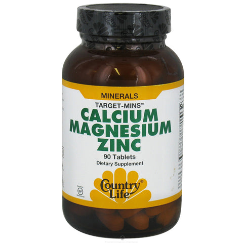 COUNTRY LIFE - Target-Mins Calcium-Magnesium Complex with Vitamin D3