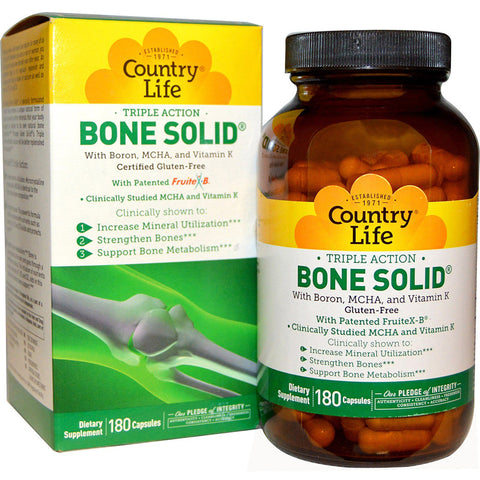 Country Life Vitamins - BONE SOLID
