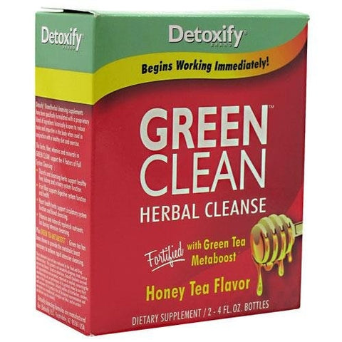 Detoxify - Green Clean Herbal Cleanse Honey Tea