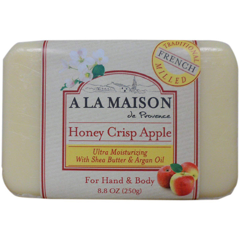 A La Maison - Bar Soap Honey Crisp Apple - 8.8 oz. (250 g)