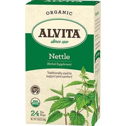 Alvita - Herbal Nettle Tea Organic - 24 Tea Bags