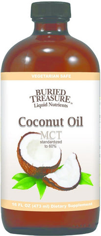 Buried Treasure - Coconut Oil MCT Standarized 60%