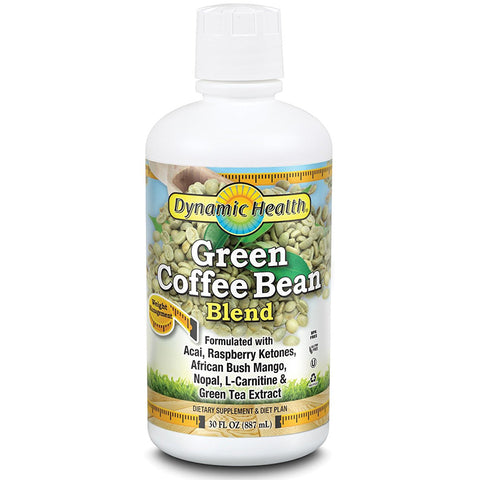 DYNAMIC HEALTH - Green Coffee Bean Juice Blend 800 mg