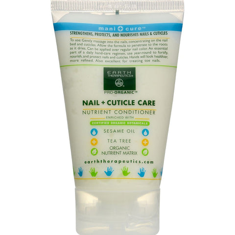 EARTH THERAPEUTICS - Organic Nail & Cuticle Care