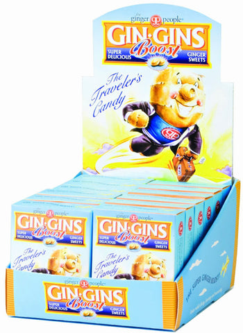 Ginger People - Gin Gins Boost Ultra Strength Ginger Candy