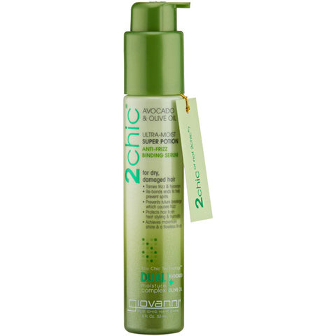 GIOVANNI COSMETICS - 2Chic Ultra-Moist Super Potion Anti-Frizz Binding Serum