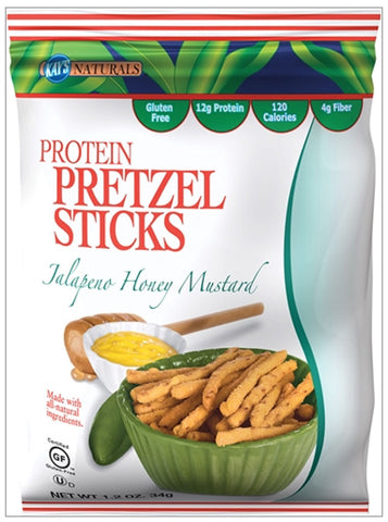 Kays Naturals - Protein Pretzel Sticks Jalapeno Honey Mustard