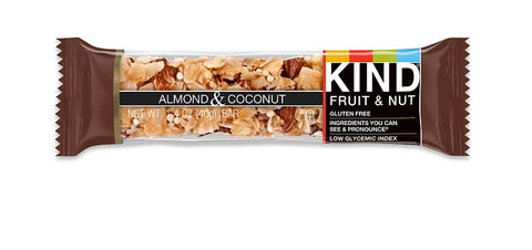 KIND Fruit and Nut - Almond and Coconut Bars - 12 x 1.4 oz Bars