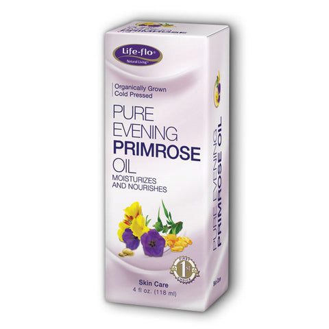 LIFE-FLO - Pure Evening Primrose Oil - 4 fl. oz. (120 ml)