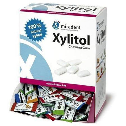 Miradent - Xylitol Chewing Gum Assorted - 200 Pieces