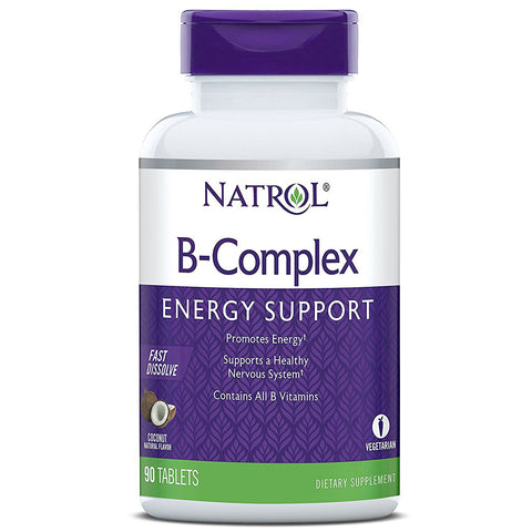 Natrol - B-Complex Fast Disolve Coconut